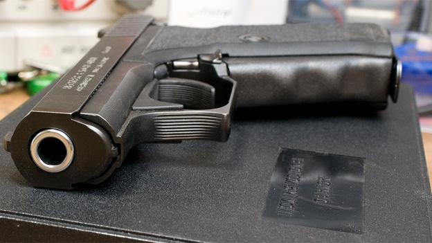 One provision in the Maryland gun law would require fingerprinting with the purchase of a handgun.