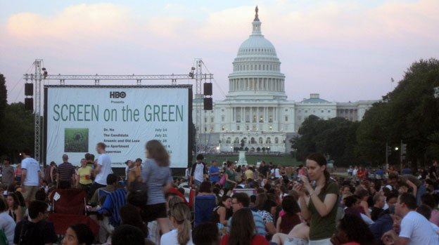 Screen on the Green has been a popular event in years passed.