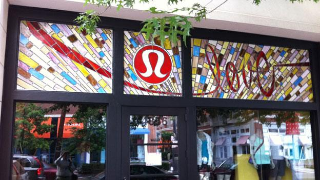 The Lululemon Athletica store in Bethesda, where Jayna Murray was found dead last year.