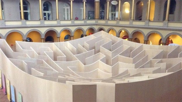 The museum hopes that attractions like the maze will help draw people in who might not ordinarily have been interested in architecture.