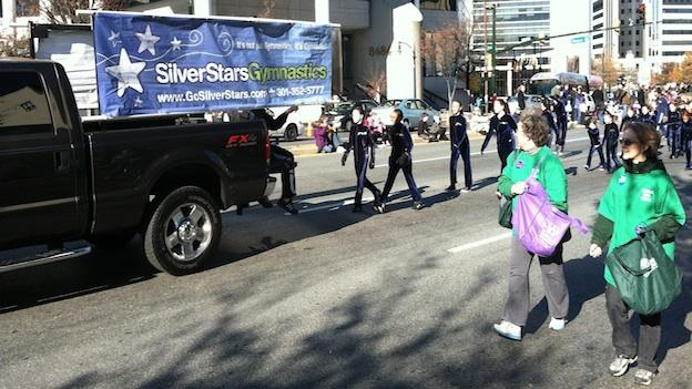 Montgomery County held its annual Thanksgiving parade in downtown Silver Spring Saturday.