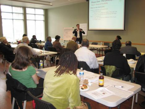 Faith leaders from across the D.C. area take a workshop on affordable housing development