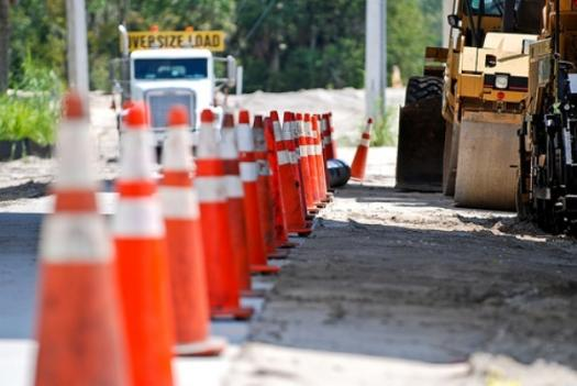 Some highway construction projects in D.C. have been halted because Congress failed to pass key transportation legislation.