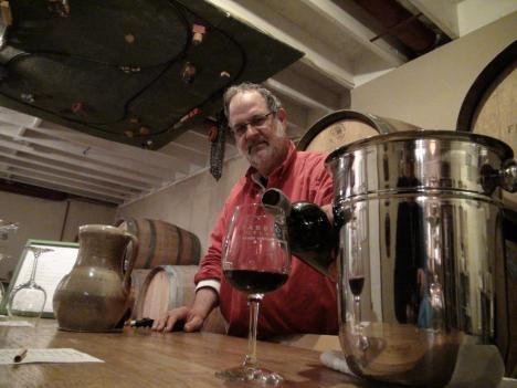 Leesburg winemaker Doug Fabbioli hopes his merlot will stay stink bug-free.