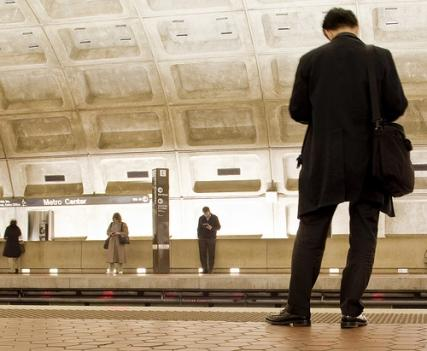 The Metro budget proposal would have trains run less frequently on the weekends.