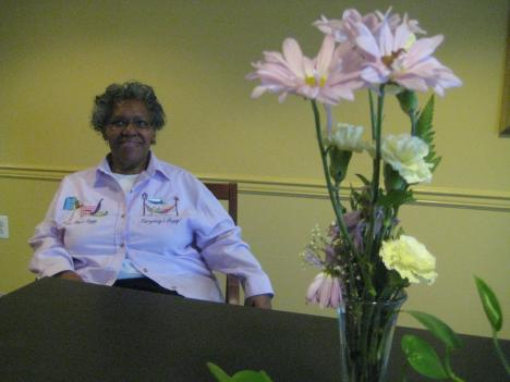"""Yvonne Baskerville, 74, has been living in Washington, D.C., since 1941. She says the most important thing in life is """"knowing yourself, loving God, and transferring that same love to people you meet along the way."""""""