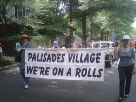 A ragtag team of revelers has traipsed through the Palisades for the annual Fourth of July parade.