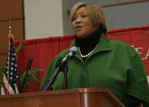 D.C. Council member Yvette Alexander at an event in 2009.