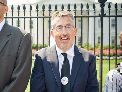 Commentator Mike Tidwell was part of a group that was arrested at the White House in protest of a proposed tar sands pipeline across six states.