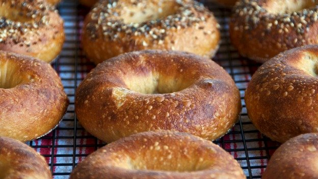 Bagels may be most often linked to Jewish communities, but Korean bakers in the region have taken over many of the bakeries where they are made.