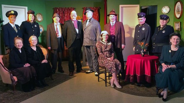 "The cast of ""Arsenic and Old Lace."""