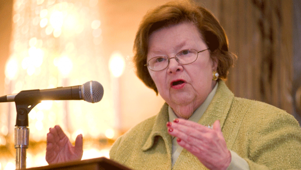 Sen. Barbara Mikulski (D-Md.) says more must be done to fix the wage gap between men and women.