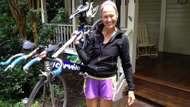 Virginia resident Margaret Wohler decided to give up her car and bike everywhere.
