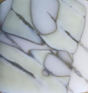 """""""Emergence"""" by Betsy Mead is just one of the pieces featured in Del Ray Artisans' Shades of White exhibit, which opens tonight with a reception from 7 to 10 p.m."""