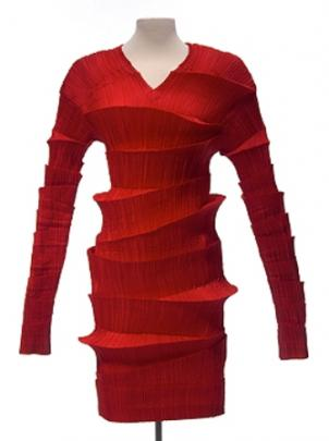 Dress, Fall/Winter 1990/91, Issey Miyake (b. 1938), Japan. Collection of Mary Baskett.