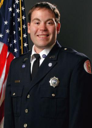 Alexandria Firefighter Joshua Weissman, who was fatally injured while responding to a vehicle fire in I-395 Feb. 8.
