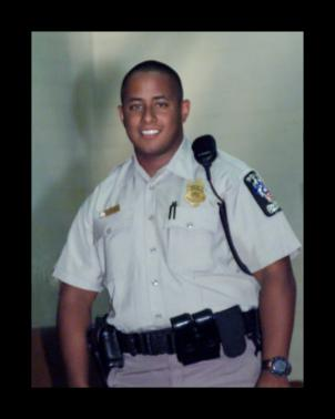 Officer Hector Ayala was 31 years old when he was killed in a car accident.