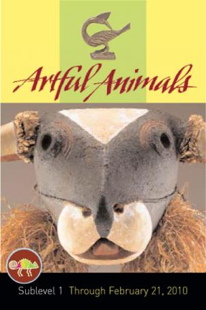 The exhibit runs through February and explores the ways artists have used the images of animals in their work.